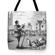 England: Beheading, 1554 Tote Bag