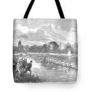 England: Boat Race, 1866 Tote Bag
