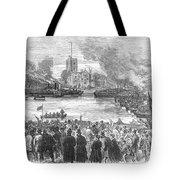 England: Boat Race, 1869 Tote Bag