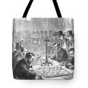 England: Chess Match Tote Bag
