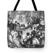 England: Christmas Party Tote Bag