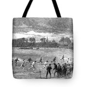 England: Foot Race, 1866 Tote Bag