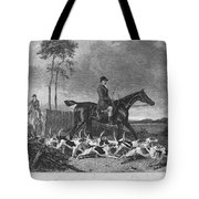 England: Fox Hunt, 1832 Tote Bag