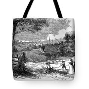 England: Manchester, 1842 Tote Bag