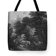 England: Market Cart Tote Bag