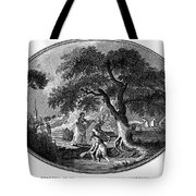 England: Pulling Flax Tote Bag