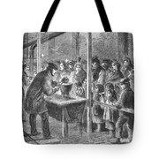England: Soup Kitchen, 1862 Tote Bag
