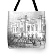 England: Theatre, 1843 Tote Bag