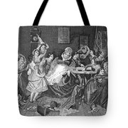 England: Village School Tote Bag