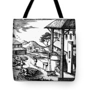 England: Water Mill Tote Bag