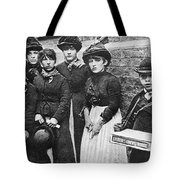 England: Women Strikers Tote Bag