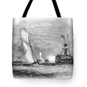 England: Yacht Race, 1843 Tote Bag