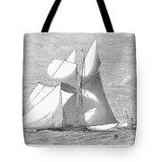 England: Yacht Race, 1868 Tote Bag