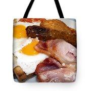 English Breakfast Tote Bag