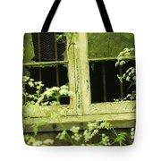 English Countryside Window Tote Bag