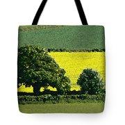 English Field Of Yellow 2 Tote Bag