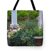 English Ivy Cascade Tote Bag