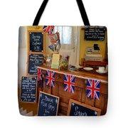 English Tearoom Tote Bag