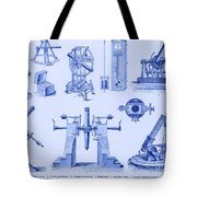 Engraving Of Historical Astronomy Tote Bag