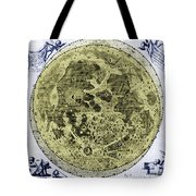Engraving Of Moon, 1645 Tote Bag