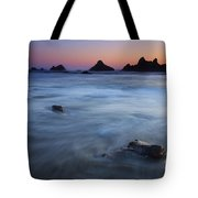 Engulfed By The Tides Tote Bag