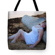 Enjoying The Sunrise Tote Bag