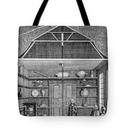 Enlightenment Lightning, 1766 Tote Bag by Science Source