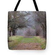 Enter The Mystery Forest Tote Bag