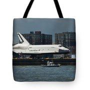 Enterprise To Intrepid Tote Bag by Gary Eason