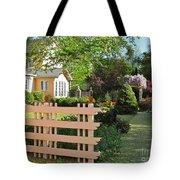 Entrance To A Victorian Garden Tote Bag