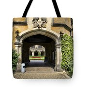 Entrance To Cecilienhof Palace Tote Bag
