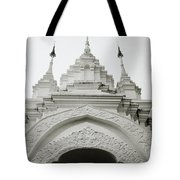 Entrance To Wat Suan Dok Tote Bag