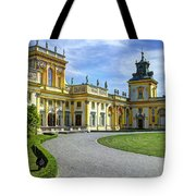 Entrance To Wilanow Palace - Warsaw Tote Bag