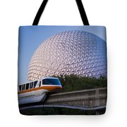 Epcot And Monorail Tote Bag