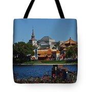 Epcot China And Norway Tote Bag