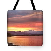 Epic August Sunset 2 Tote Bag