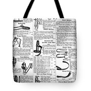 Equestrian Equipment, 1895 Tote Bag
