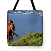 Equine View  Tote Bag