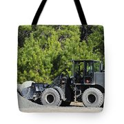 Equipment Operator Gathers A Load Tote Bag