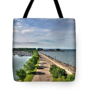 Erie Basin Marina Summer Series 0001 Tote Bag
