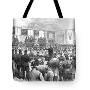 Erie Railway Auction, 1878 Tote Bag