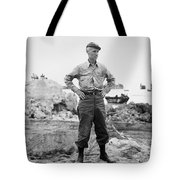 Ernie Pyle (1900-1945). American Journalist. Photograph, C1942 Tote Bag