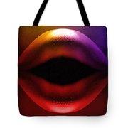 Erotic Lips Tote Bag