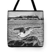 Escape From Alcatraz Tote Bag