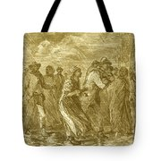 Escaping To Underground Railroad Tote Bag