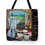 Espresso Poster Tote Bag