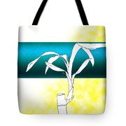 Essence Yellow Tote Bag