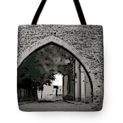 Estonia Old Town Wall Tote Bag