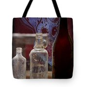 Etched Glass Tote Bag