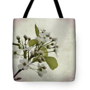 Etched In Love Tote Bag